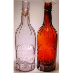 Whiskey Bottles/Hayner Distilling Co / 2 Pieces  (80079)
