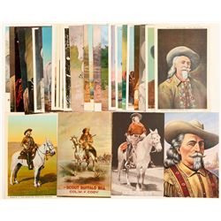 Buffalo Bill postcards  (100439)