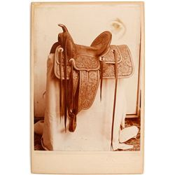 Original Saddle Sales Cabinet Card  (89106)