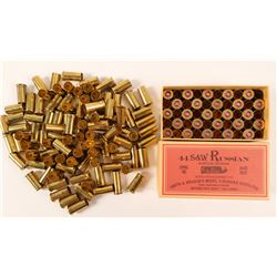.44 cal. Smith & Wesson Russian cartridges  (91463)