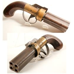 CMC Pepperbox revolver .36 cal.  (75708)