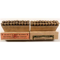 Two boxes of Peters .30-40 Krag Army Blanks  (91459)