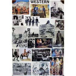 "Movie Poster /  "" Western"".  (100591)"