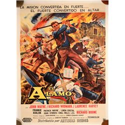 "Movie Poster / "" El Alamo""  (100593)"