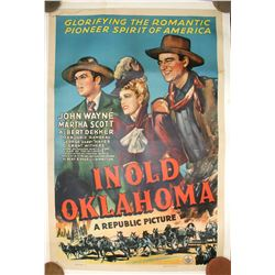 "Movie Poster / "" In Old Oklahoma "" .  (100590)"