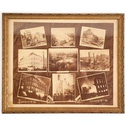 Providence, RI 1888 Fire Photo Montage  (91493)