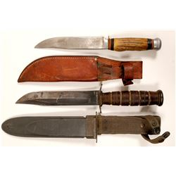 Knives with Sheaths  (102752)