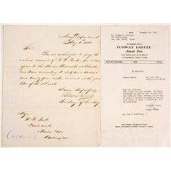Secretary of the Navy Civil War Letter   (81319)