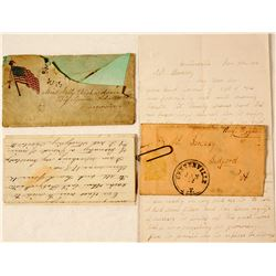 Two Civil War Letters  (59424)