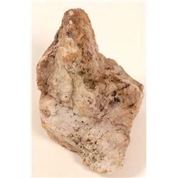 High-Grade Fluorite-Gold Ore, Manhattan, Nevada  (103120)