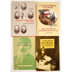 Arizona Territory Books (4)  (63407)