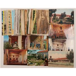 Bay Area, CA Missions Postcards  (102659)