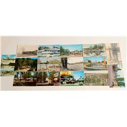 Fresno, CA Area Postcards  (103258)