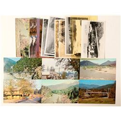 Happy Camp/Orleans/Klamath River, CA Postcards  (90792)