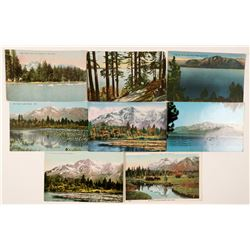 Lake Tahoe/Tallac Postcards (8)  (90734)