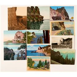 Cave Rock/Lake Tahoe Postcards (14)  (90732)