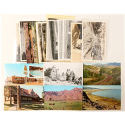 Lassen/Modoc, CA Postcards with RPC's  (103190)