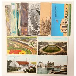 Los Angeles, CA Sports Postcards  (103285)