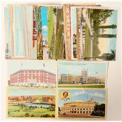 Los Angeles, CA School & Church Postcards  (103284)