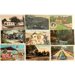 Los Angeles Area Town Postcards  (103246)