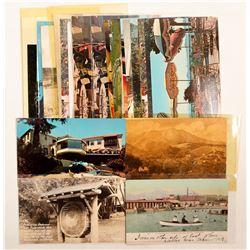 Marin/San Quentin, CA Postcards  (103201)