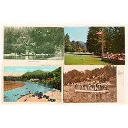 Monte Rio, CA Postcards (4)  (101799)