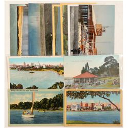 Oakland/Lake Merritt, CA Postcards  (103200)