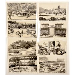Pacific Palisades Postcards, RPC's  (91331)
