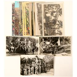 Rose Parade Postcards with RPC's  (102351)