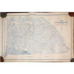 San Bernardino County Map  (102680)