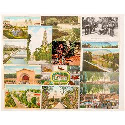 Balboa Park and Zoo, San Diego, CA Postcards  (102377)