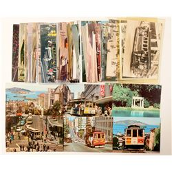 Cable Car/Trolley, SF CA Postcards  (103275)