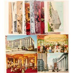 Fairmont Hotel, CA postcards  (103272)