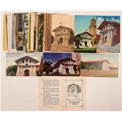 Mission Dolores, San Francisco Postcards  (102663)