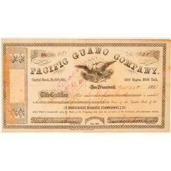 Pacific Guano Company Stock Certificate  (101491)