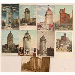 San Francisco Newspaper Buildings Chromolitho's  (102771)