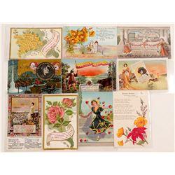 San Francisco, Portola California Festival Post Cards  (102776)