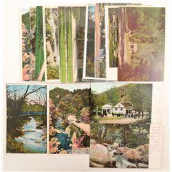 Alum Rock Park, San Jose, CA Postcards  (90796)