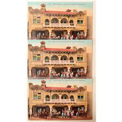 San Jose, FD Postcards  (90797)