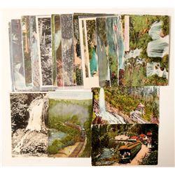 Shasta Springs, CA Postcards  (103184)