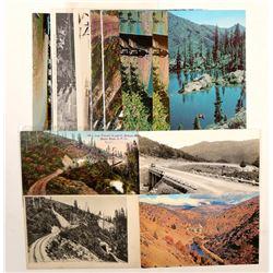 Siskiyou, CA Postcards  (103206)