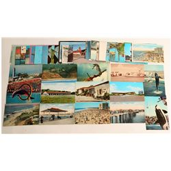 Southern California Beach Town Postcards  (103247)