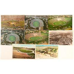 Stanford, CA Stadium Historical Views Postcards  (90776)