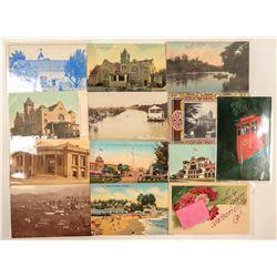 Watsonville, CA Postcards  (103205)