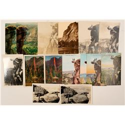 Glacier Point, Yosemite Postcards with RPC's  (102653)