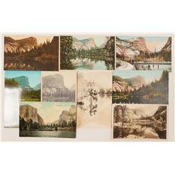Mirror Lake, Yosemite Postcards  (102661)
