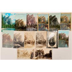 Three Brother, Yosemite Postcards  (102650)