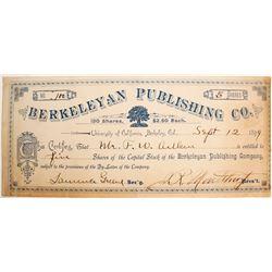 Berkeley Publishing Co stock  (81843)
