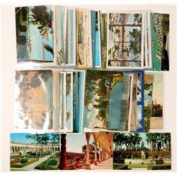 Sarasota, Tampa, St. Petersberg, Fort Lauderdale Post Cards  (91192)