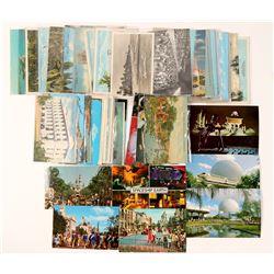 Daytona, Pensacola, Orlando, Palm Beach Postcards   (91193)
